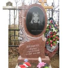 Памятник из цветного гранита 00006 — ritualum.ru