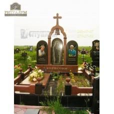 Памятник с фотокерамикой №4 — ritualum.ru