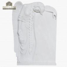 Скульптура ангела из мрамора №115 — ritualum.ru